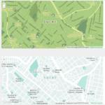 Combinaciones de colores para Google Maps – Snazzy Mapas