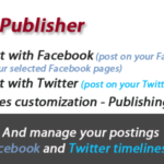 Facebook y Twitter Social Publisher – Codecanyon